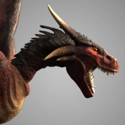 AM Rig Dragon Animation Characters